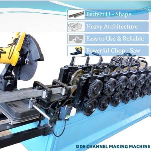 U Channel Roll Forming Machine In India