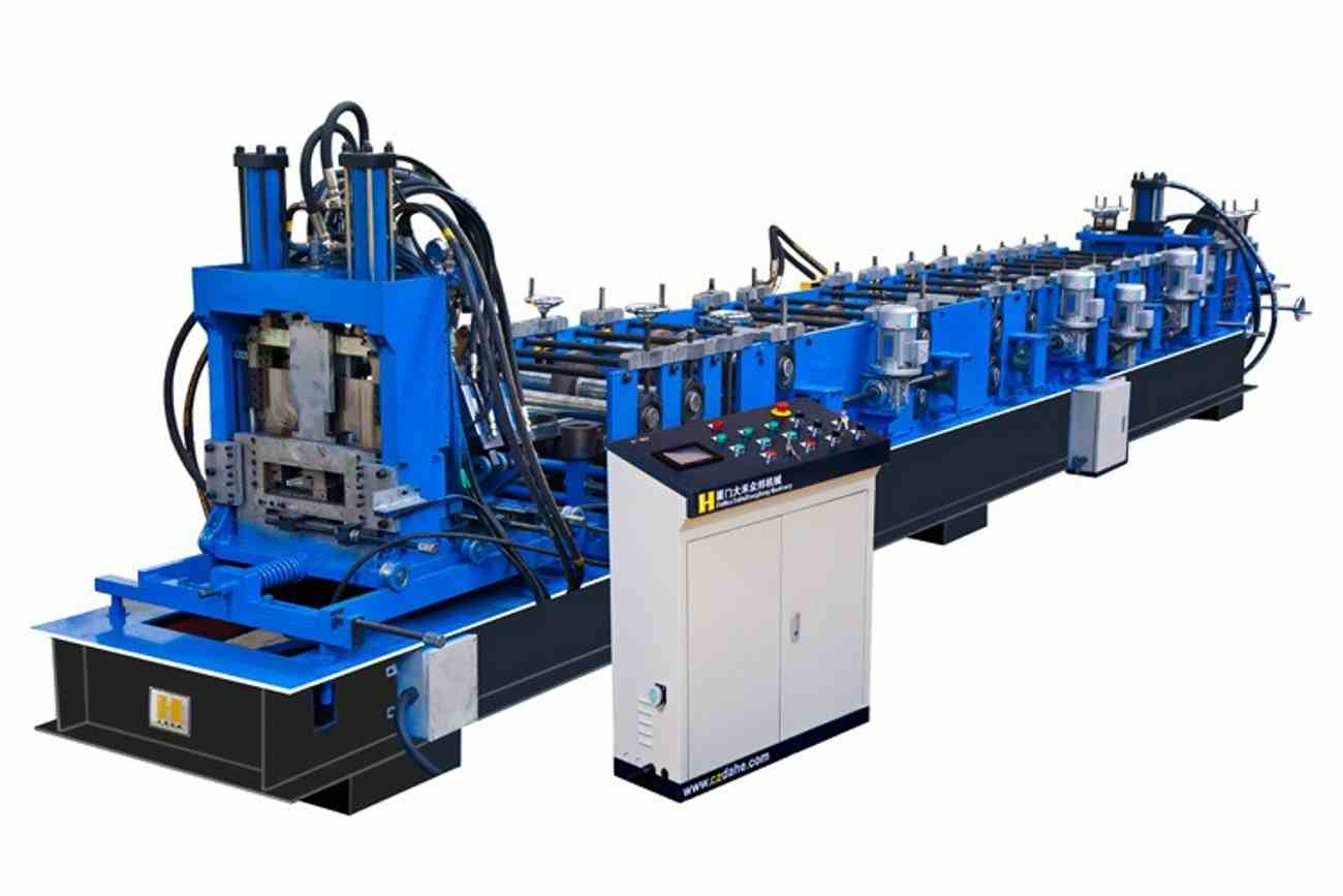 Cz Purlin Roll Forming Machine in India