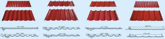 Roofing Sheet Profiles