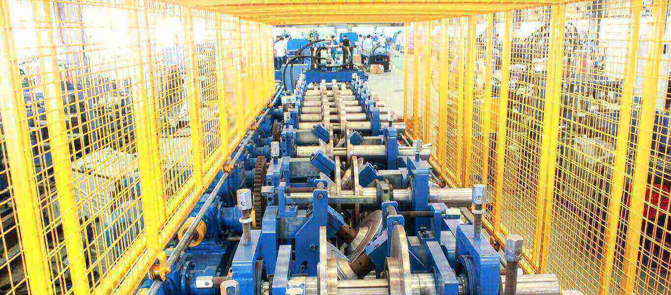 Interchangeable Roll Forming Machine In India